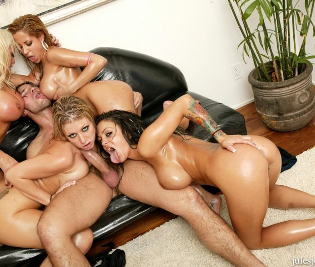 Naked August Pornstar Orgy Angelina Valentine
