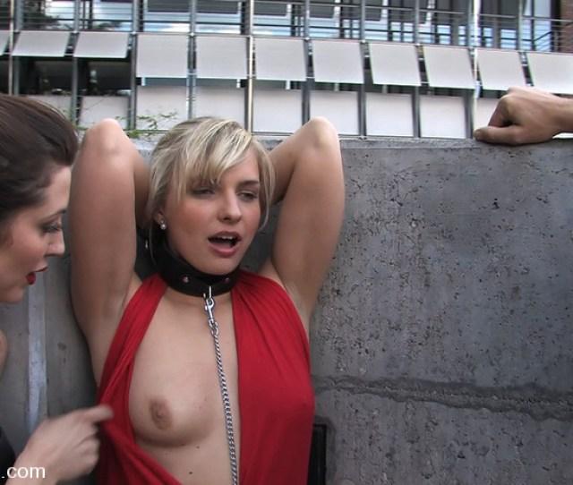 Sexy Steve Holmes Blonde Public Disgrace