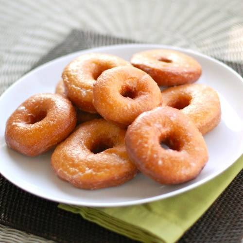 Sweet Potato Doughnuts