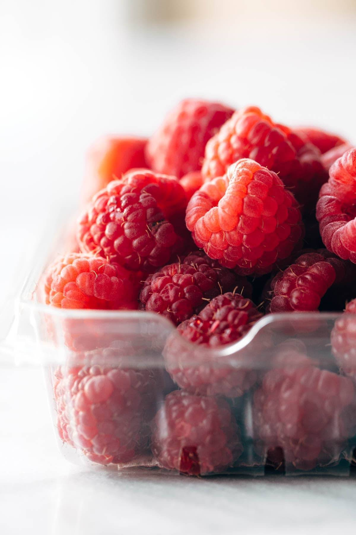 Raspberries for French Toast Casserole | pinchofyum.com