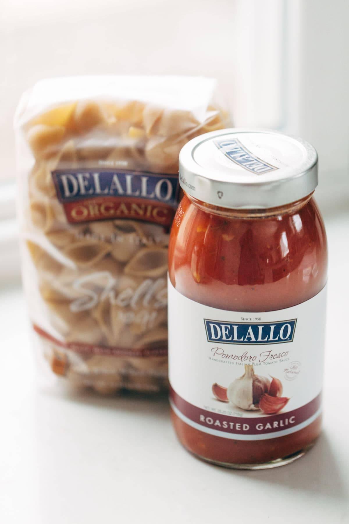 DeLallo Pasta Sauce | pinchofyum.com