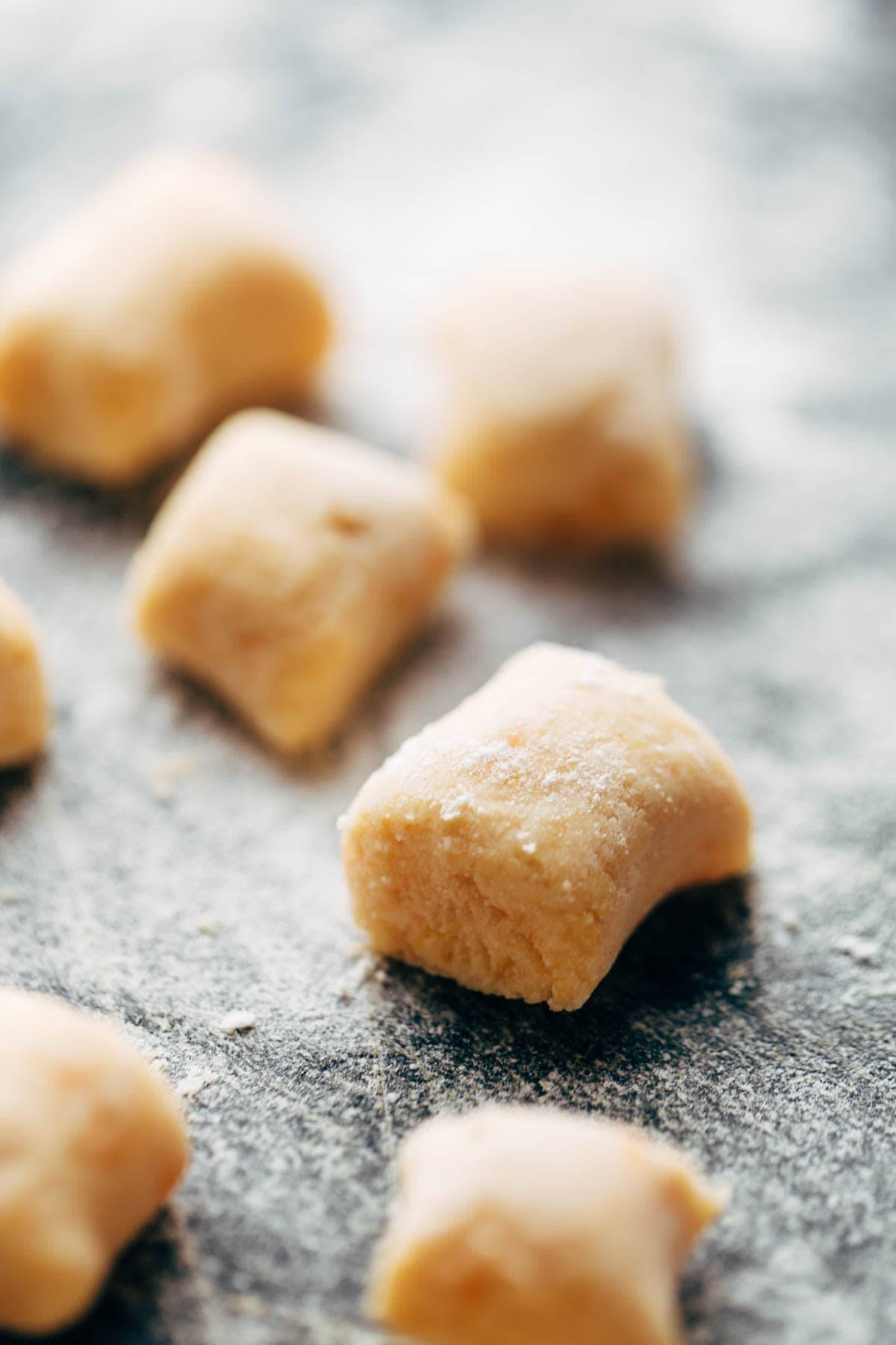 The easiest and best way to make Sweet Potato Gnocchi! | pinchofyum.com