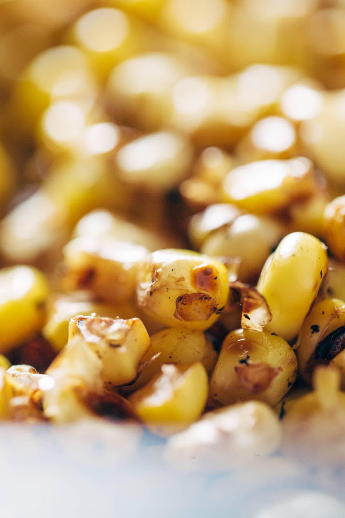 Roasted Corn | pinchofyum.com