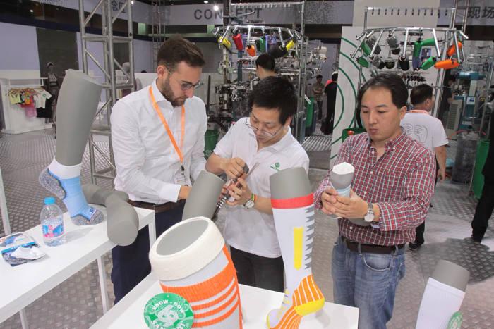 yiwutex, maquinaria textil, feria, yiwu, china, producción, equipos, tecnología textil