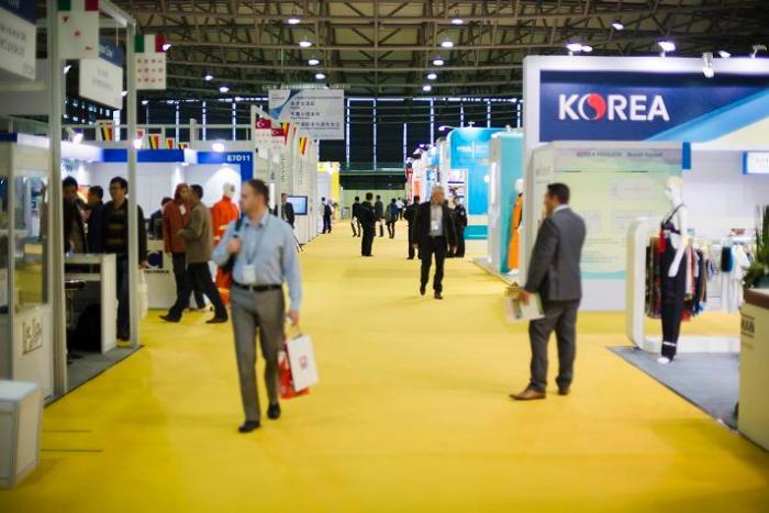 Cinte Techtextil, salones de textiles técnicos, Feria de Frankfurt, Shanghai, Ibena, Sanitized, Autefa Solutions, J. H. Ziegler, textiles técnicos en China