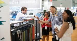 Cinte Techtextil China, Feria de Frankfurt, Lenzing, Itema, Johns Manville, China International Nonwovens Expo & Forum (CINE), ferias de textiles técnicos, textiles técnicos en China, CCPIT, CNITA