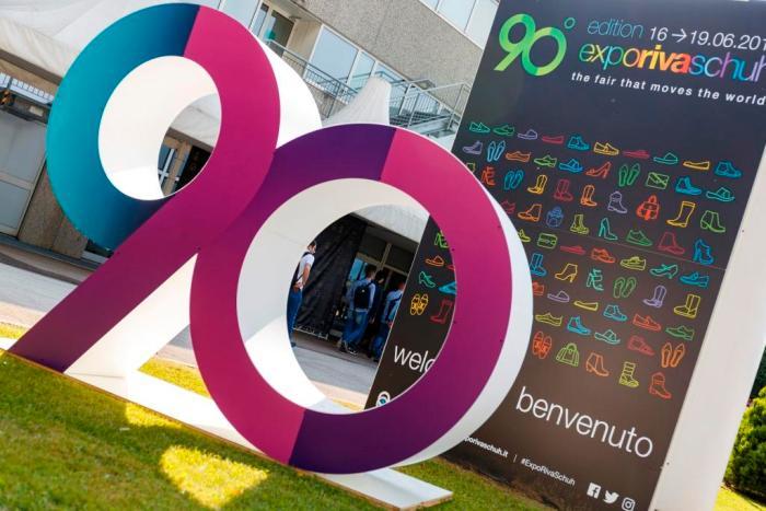 Expo Riva Schuh, GardaBags, CLE, Sudáfrica, Vietnam, Assomac, SAFLEC, salones de calzado