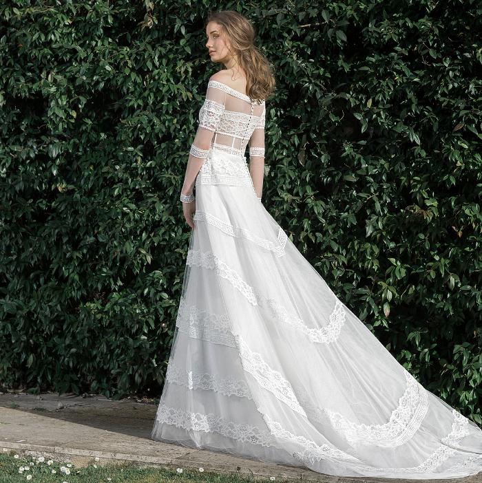 colección 2020, moda nupcial, alta costura, Inmaculada Garcia, Cathedrals, VBBFW