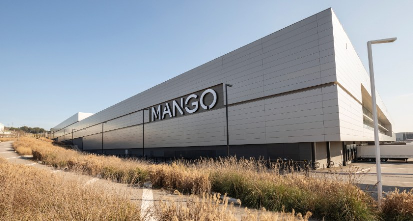 centro logístico, mango , retail logístico, lliçà d'amunt