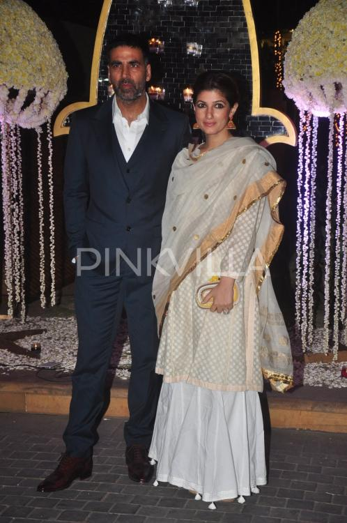 Akshay Kumar and Twinkle attend Tejas  Rriddhis wedding