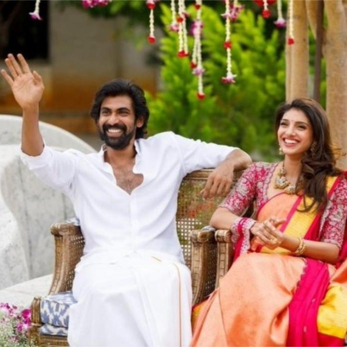 Unmissable Rana Daggubati's cheeks turn red as he BLUSHES when asked about attention from Miheeka Bajaj