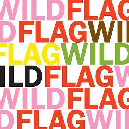 Wild Flag- Glass Tambourine