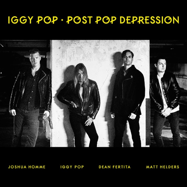 Iggy Pop Details Post Pop Depression, Shares