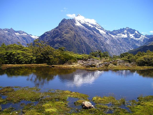 New Zealand Mountains Lake  Free photo on Pixabay