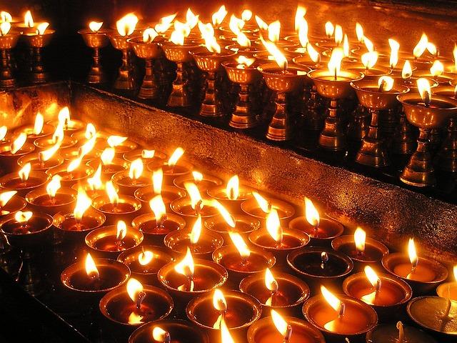 Diya Wallpaper Hd Free Photo Nepal Candles Prayer Light Holy Free
