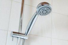 お風呂, バスルーム, 明るい, クロム, クリーン, 冷, クール, 液滴