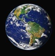 Terre Planète Bleue Globe Planet Monde Esp