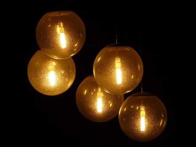 Foto gratis Lampu Cahaya Penerangan Malam  Gambar