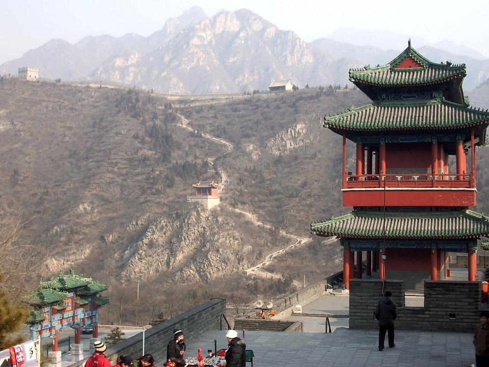 Free Photo Great Wall China Asia Landmark Free