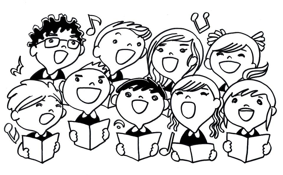 Illustration gratuite: Chant, Enfants, Chanson, Chanter