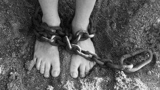 Chains, Feet, Sand, Bondage, Prison