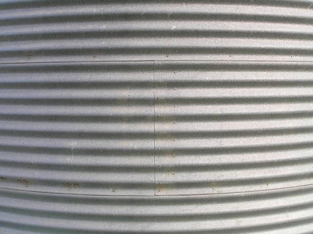 Free photo Background Corrugated Tank Metal  Free