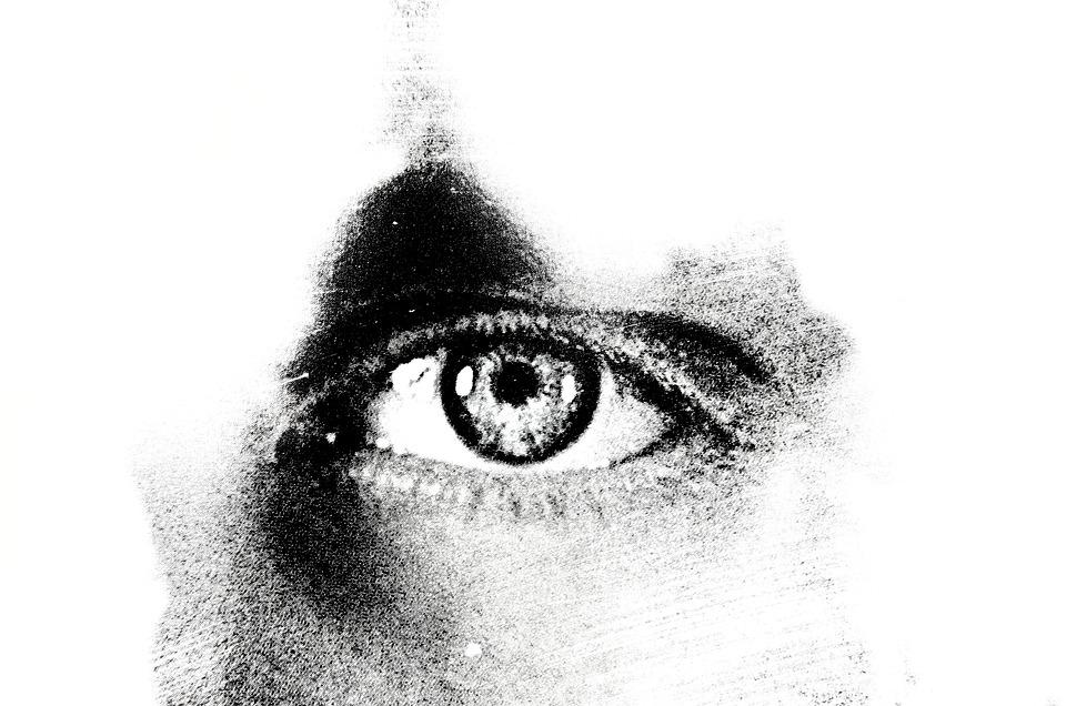 目, 背景, 光, 効果, マクロ, 男, 人, シンボル