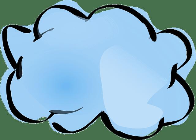 Kostenlose Vektorgrafik Wolke Wetter Natur Blau Wasser  Kostenloses Bild auf Pixabay  23297