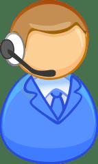 Mann Operator Call-Center - Kostenlose Vektorgrafik auf Pixabay