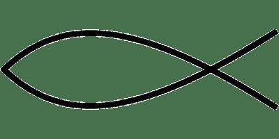 Christliche Fisch Symbol Jesus · Kostenlose Vektorgrafik ...