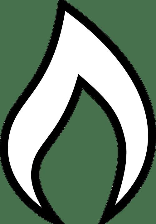 Kostenlose Vektorgrafik Feuer Schwarz Symbole Flamme
