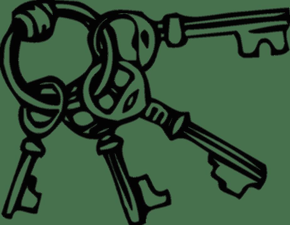 Keys Ring Keyring · Free vector graphic on Pixabay