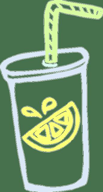 Minuman Animasi : minuman, animasi, Lemonade, Beverage, Vector, Graphic, Pixabay