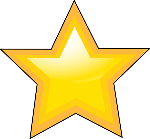 free vector graphic star shape