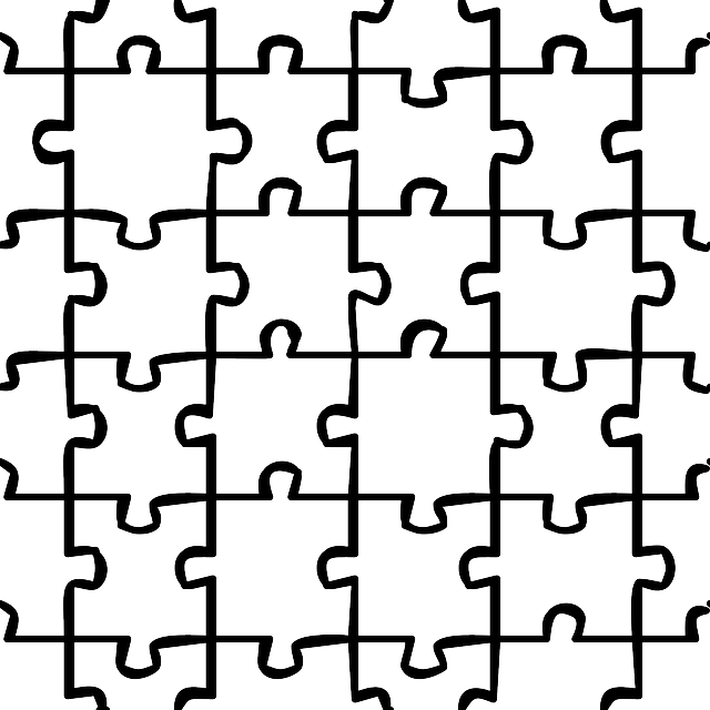 Puzzle Blank White · Free vector graphic on Pixabay