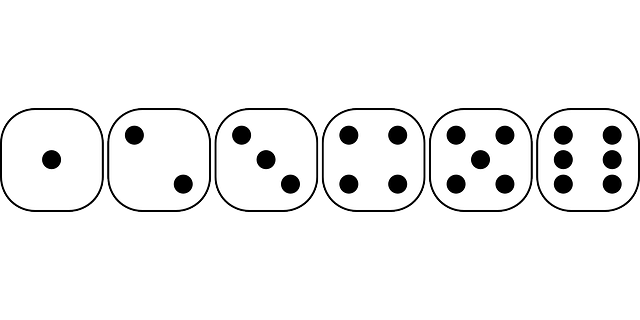 Free vector graphic: Dice, Games, Game, Six, Sided, Face