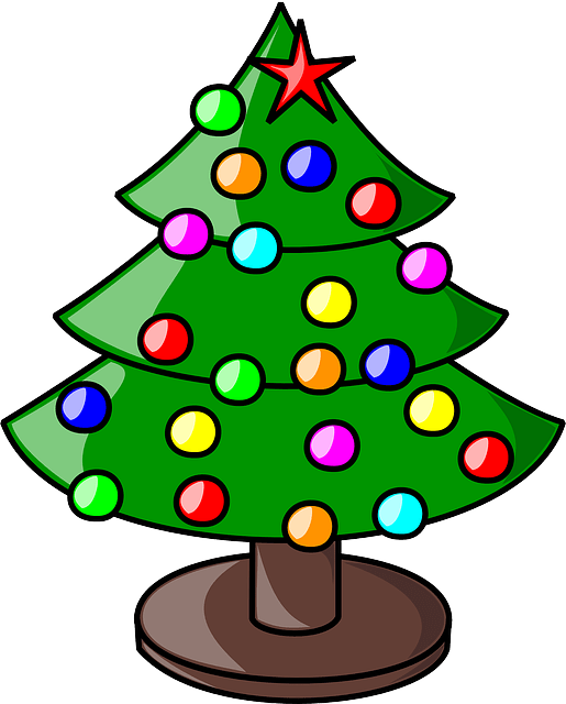 christmas tree holiday free vector