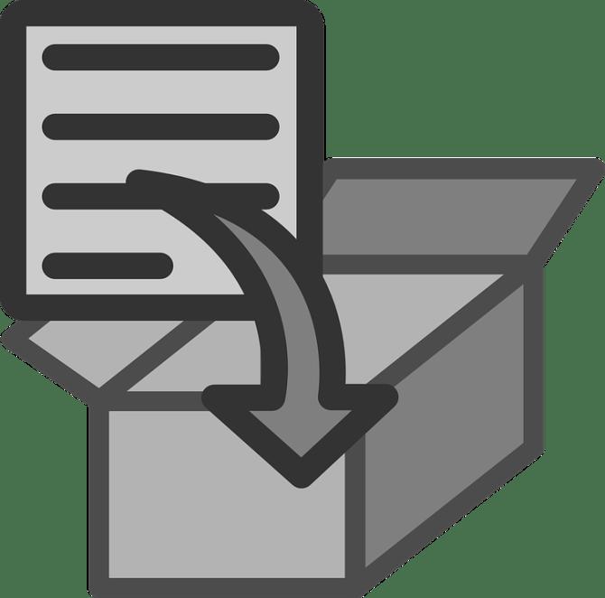 Comprimere, File, Zip, Archivio, Aggiungere, Documento