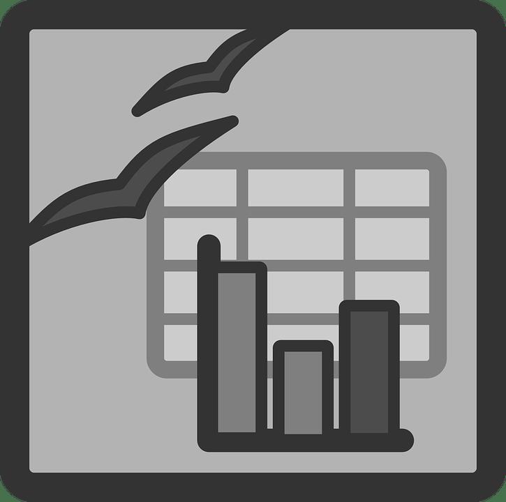 Document Spreadsheet Icon · Free vector graphic on Pixabay
