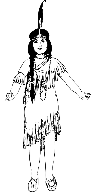 Native American Indian Maiden · Free vector graphic on Pixabay