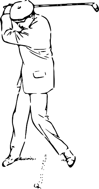 Free vector graphic: Golfer, Stroke, Sports, Ball, Golf