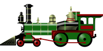 Steam, Engine, Train, Old, Transportation, Toy