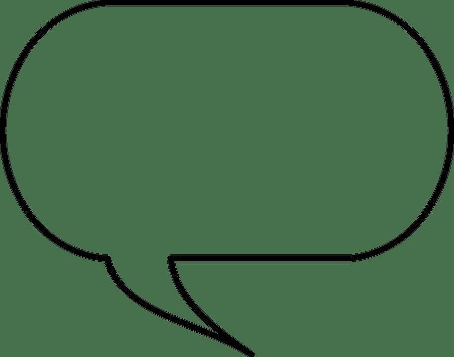 Speech Balloon Box · Free vector graphic on Pixabay
