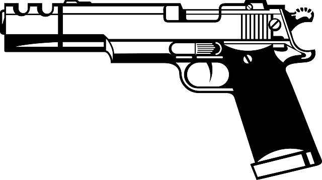 Pistol Hand Gun Firearm · Free vector graphic on Pixabay