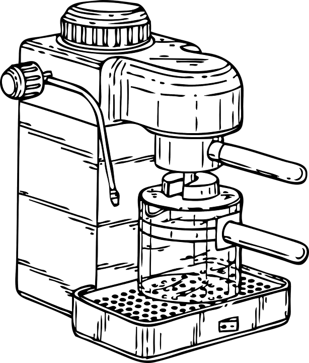 Free vector graphic: Coffee, Machine, Espresso, Maker
