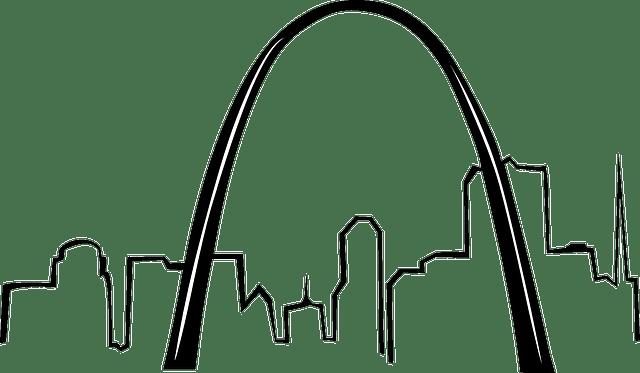Free vector graphic: Gateway, Arch, St Louis, Missouri
