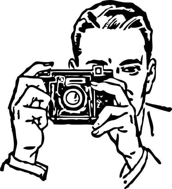 Free vector graphic: Photographer, Man, Taking, Picture