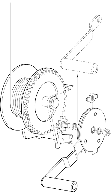Winch Mechanical Parts · Free vector graphic on Pixabay