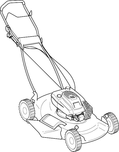 Lawn Mower Machine Grass · Free vector graphic on Pixabay