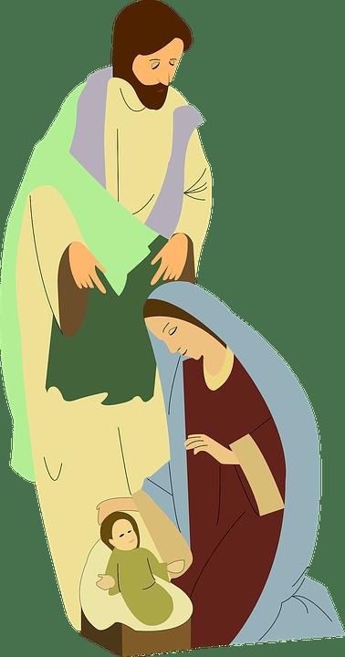 free vector graphic nativity